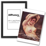 Gustave Courbet (The Bathers) Art Poster Print Photo