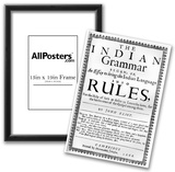 Handbill (Indian Grammar by John Eliot) Art Poster Print Photo