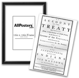 Treaty (Governor of the Provinces and Indians of the Six Nations, 1746) Poster Print Posters