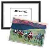 Edgar Degas Horse Racing The Training Art Print Poster Posters
