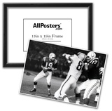 Johnny Unitas with Football Archival Photo Sports Poster Print Prints