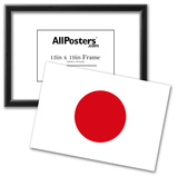 Japan National Flag Poster Print Posters