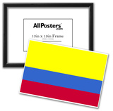 Colombia National Flag Poster Print Posters