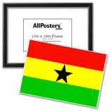 Ghana National Flag Poster Print Prints