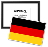 Germany National Flag Poster Print Posters