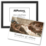 Creation of Adam (Full) Michaelangelo ART PRINT POSTER Posters