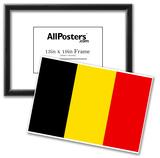 Belgium National Flag Poster Print Posters