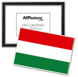 Hungary National Flag Poster Print Posters