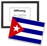 Cuba National Flag Poster Print Prints