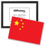 China Flag Art Print Poster Posters