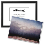 Caspar David Friedrich (Monk by the sea) Art Poster Print Poster
