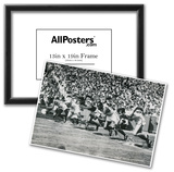 1948 London Olympics 100 Metres Archival Photo Poster Poster