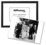 Herbert Hoover (With Henry Ford, Thomas Edison, Harvey Firestone) Art Poster Print Print