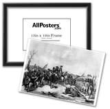 Surrender of Hessian Troops to Washington (After Battle of Trenton) Art Poster Print Posters