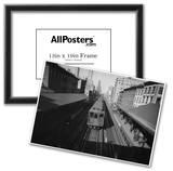 New York City City Hall Subway Train Archival Photo Poster Print Print