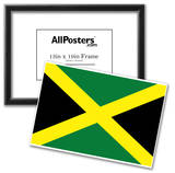 Jamaica National Flag Poster Print Print