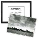 New York City Manhattan Skyline 1976 Archival Photo Poster Print Posters