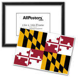 Maryland State Flag Poster Print Posters
