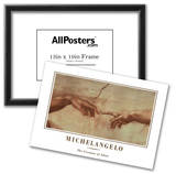 Michealengelo (Creation of Adam) Art Print Poster Photo