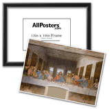 Leonardo Da Vinci (The Last Supper) Art Poster Print  Art Poster Print Prints