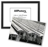 New York City Subway Cars 7 Train Archival Photo Poster Print Prints