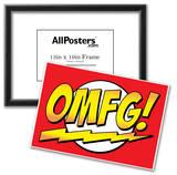 OMFG! Comic Pop-Art Art Print Poster Prints