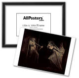 Johann Heinrich Fussli (Lady Macbeth takes the daggers opposite) Art Poster Print Photo