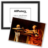 Michelangelo Caravaggio (St. Jerome when writing) Art Poster Print Posters