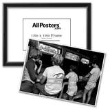 Video Arcade in Florida Archival Photo Poster Prints