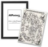 Albrecht Durer (Star map, the northern sky) Art Poster Print Posters