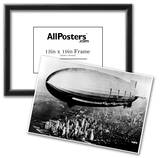 US Navy Macon Zeppelin Archival Photo Poster Print