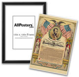Abraham Lincoln Emancipation Proclamation Historical Document Poster Prints
