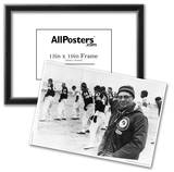 Vince Lombardi on Field Archival Photo Sports Poster Print Photo