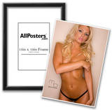 Caitlin Hixx Topless Photograph Poster Print by Mario Brown Prints