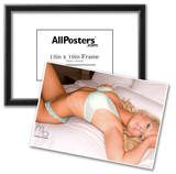 Caitlin Hixx On Bed Photograph Poster Print by Mario Brown Posters