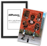 Black History African American MLK Jr. Malcolm X Art Poster Prints