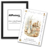 Beatrix Potter (The Tale Of Benjamin Bunny) Art Poster Print Poster