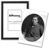 Booker T. Washington (Portrait) Art Poster Print Poster