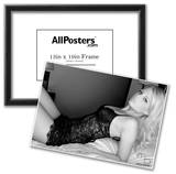 Caitlin Hixx Black Lingerie Photo Poster By Mario Brown Prints