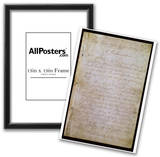 Emancipation Proclamation (Text) Art Poster Print Posters