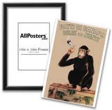 Fatti Di Canapa (Dolce Far Niente, Smoking Monkey) Art Poster Print Posters
