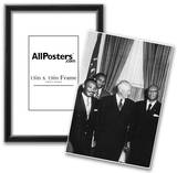Dwight Eisenhower (With Civil Rights Leaders, 1957) Poster Print