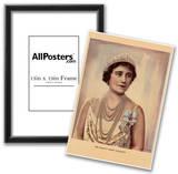 Her Majesty Queen Elizabeth (Queen Mum) Art Print Poster Posters