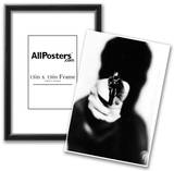 Handgun Silhouette Archival Photo Poster Print Print
