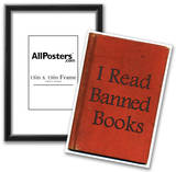 I Read Banned Books Poster Print Photo