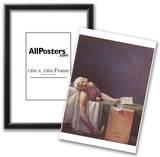 Jacques-Louis David (The murdered Marat) Art Poster Print Poster