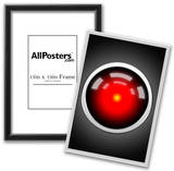 Hal 9000 Camera Eye Screen Movie Poster Prints