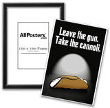 Leave the Gun Take the Cannoli Quote Poster Print Prints