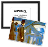 Gustave Caillebotte Le Pont de L'Europe Art Print Poster Photo