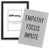 Empathy Focus Impute Philosophy Poster Prints